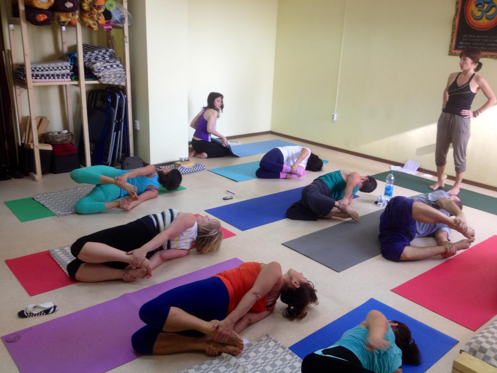 Йога-студия лотос новое